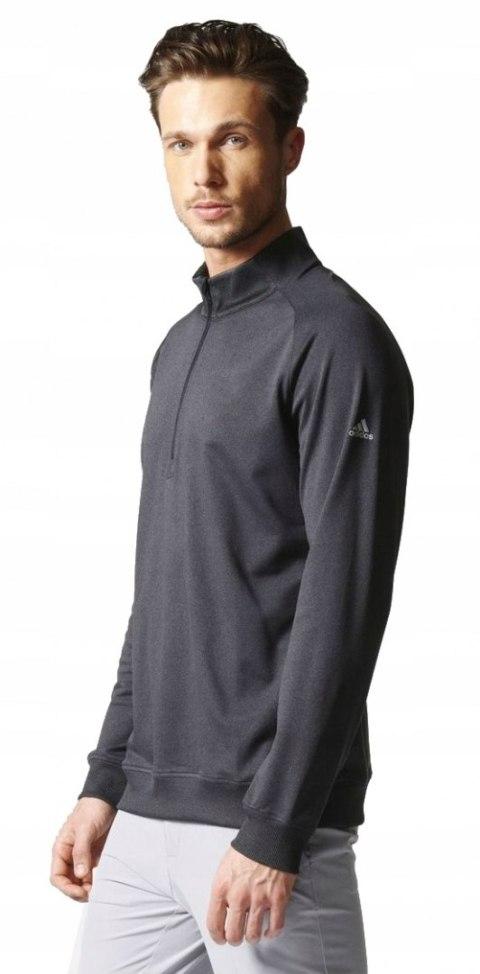 ADIDAS bluza sweter grafitowa męska zamek L